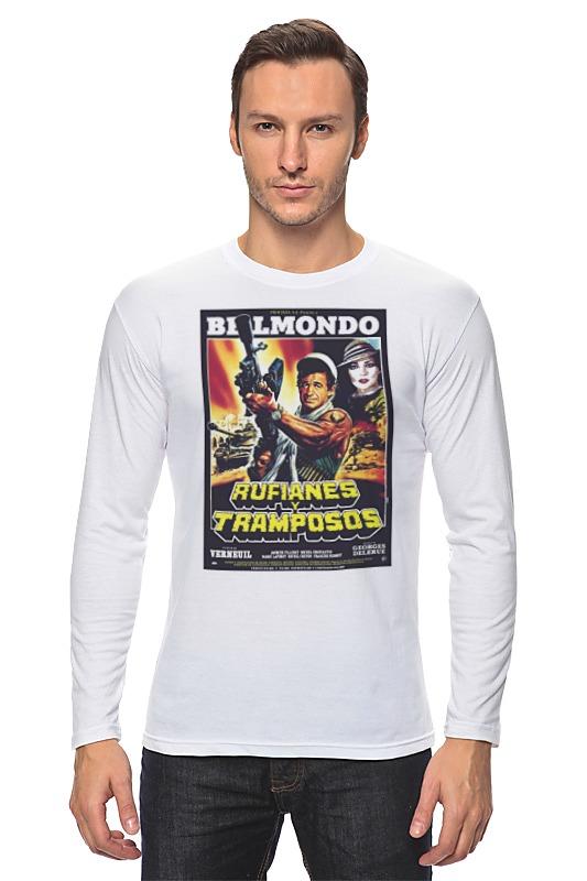 Лонгслив Printio Belmondo / rufianes v tramposos лонгслив printio belmondo rufianes v tramposos