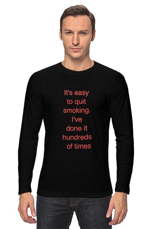 Лонгслив Printio Брось сигарету