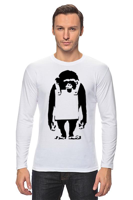 лучшая цена Printio Шимпанзе с рекламным щитом