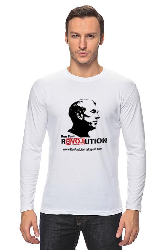 Лонгслив Printio Ron paul revolution цена