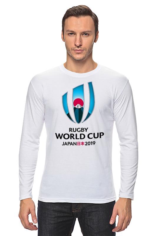 Лонгслив Printio Rugby world cup 2019 australia france rugby league world cup 2017