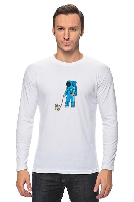 Лонгслив Printio Космонавт мартин с космонавт
