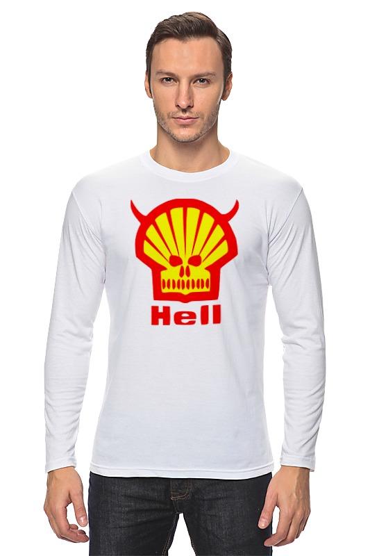 Лонгслив Printio Ад (hell) худи print bar skull hell