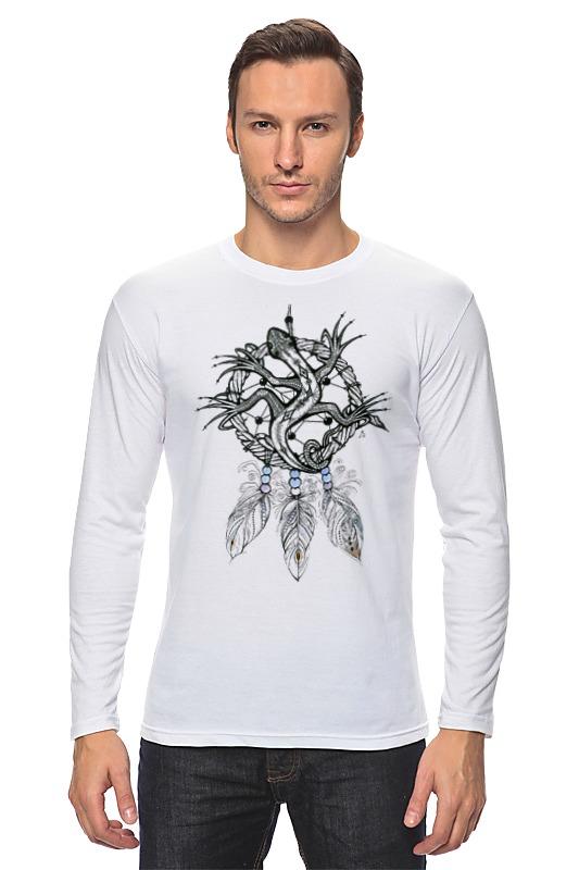 Лонгслив Printio Ловец снов ящерка футболка рингер printio ловец снов ящерка