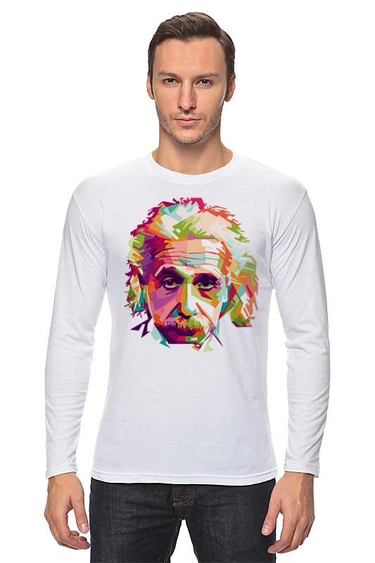 Лонгслив Printio Альберт эйнштейн (albert einstein) худи print bar albert einstein