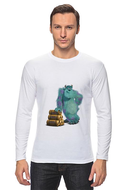 Лонгслив Printio Джеймс пи салливан (салли) футболка классическая printio джеймс пи салливан салли
