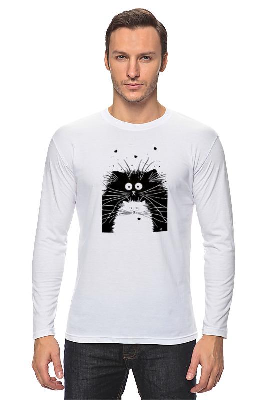 Лонгслив Printio Кот и кошка цены