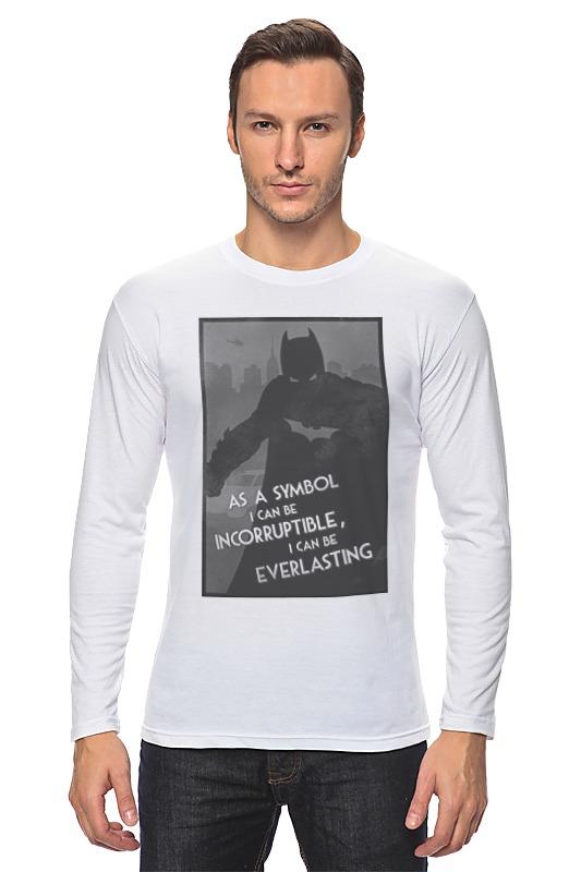 Лонгслив Printio Batman begins лонгслив printio batman x twitter