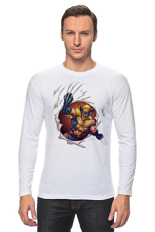 Лонгслив Printio Wolverine. marvel marvel platinum the definitive wolverine reloaded