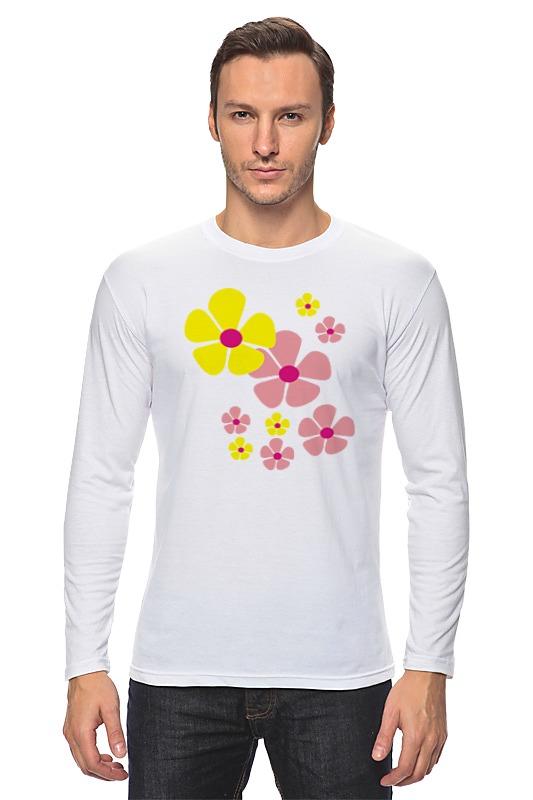 Printio Желтые и розовые цветы невидимка для волос funny bunny розовые цветы 2 шт
