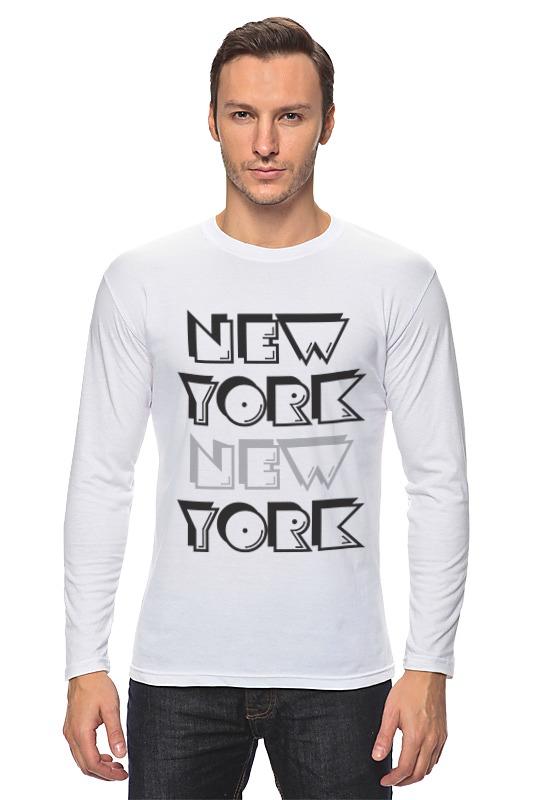 Лонгслив Printio New york консилер absolute new york radiant cover 04 цвет 04 light medium neutral variant hex name b68161
