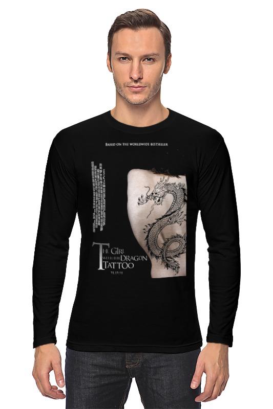 Лонгслив Printio Девушка с татуировкой дракона цена