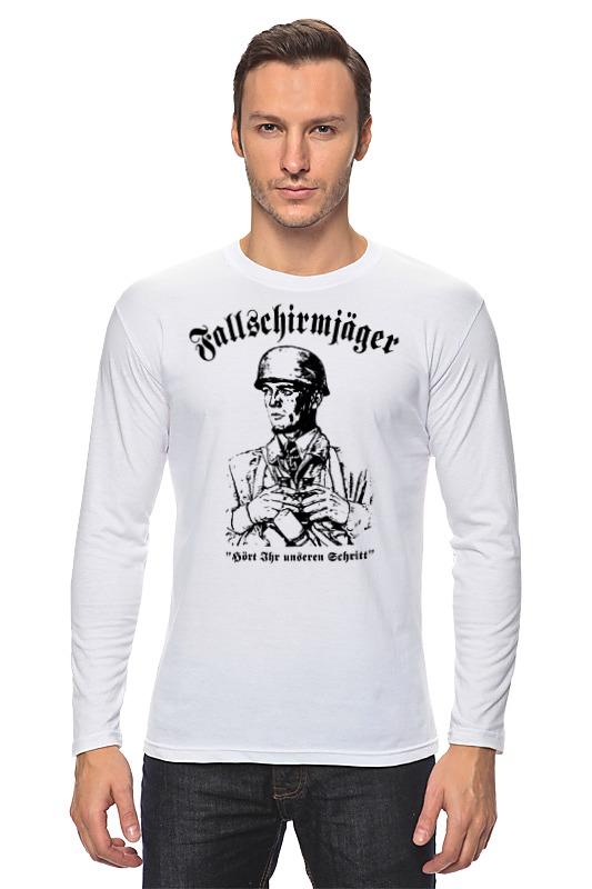 Лонгслив Printio Fallschirmjager  армейский десант германии лонгслив printio с пробегом по германии