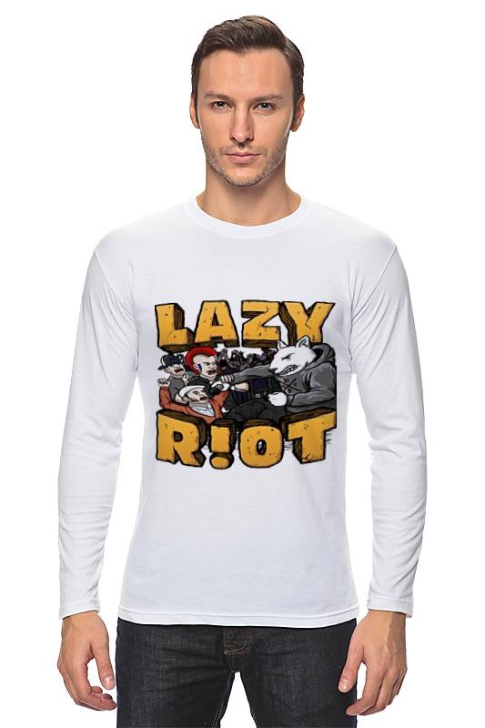 Лонгслив Printio Lazy riot цена