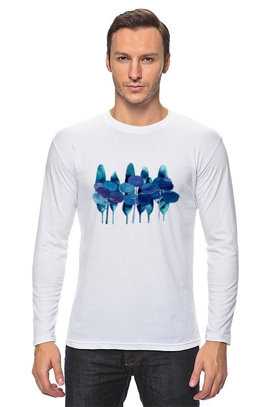 Лонгслив Printio Чернильный лес футболка классическая printio чернильный лес