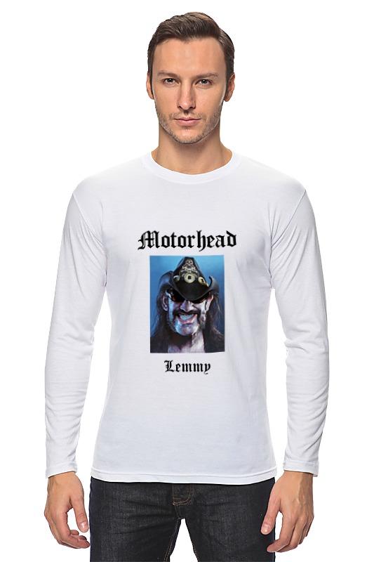 Лонгслив Printio Motorhead - lemmy kilmister футболка wearcraft premium printio lemmy kilmister motorhead