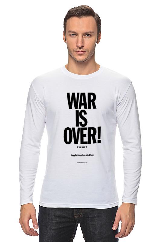 Лонгслив Printio War is over / война закончена