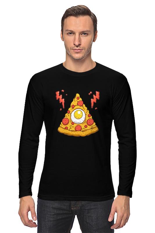 Лонгслив Printio Кусочек пиццы (pizza) лонгслив printio pizza