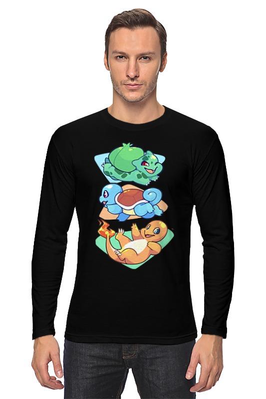Лонгслив Printio Покемоны (pokemon) лонгслив printio покемоны и марио
