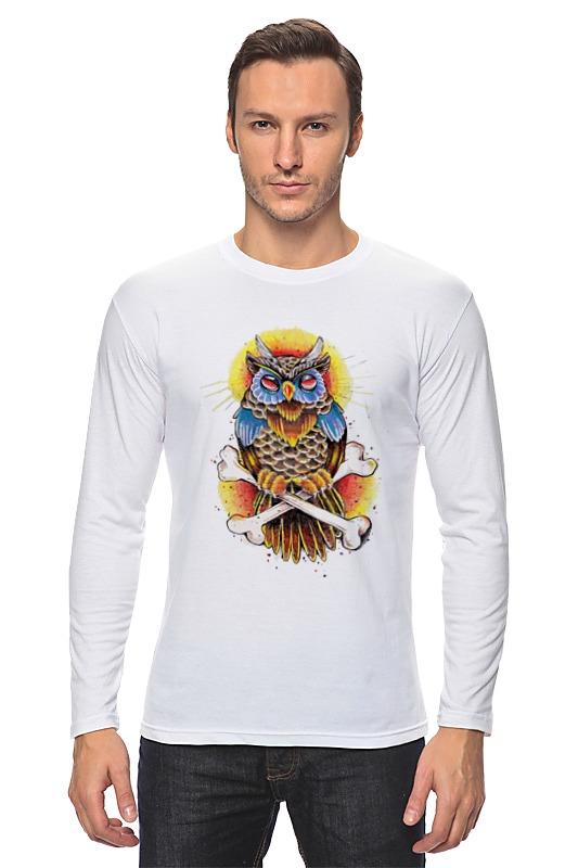 Лонгслив Printio Mysterious owl