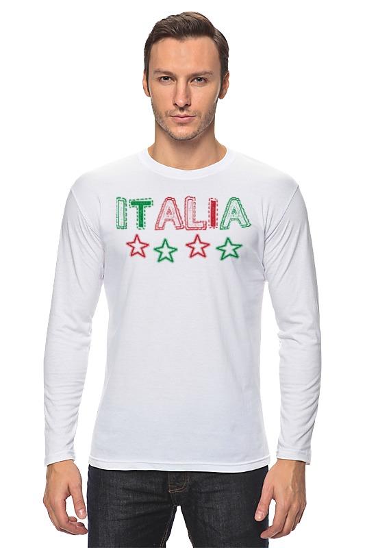 Лонгслив Printio Италия
