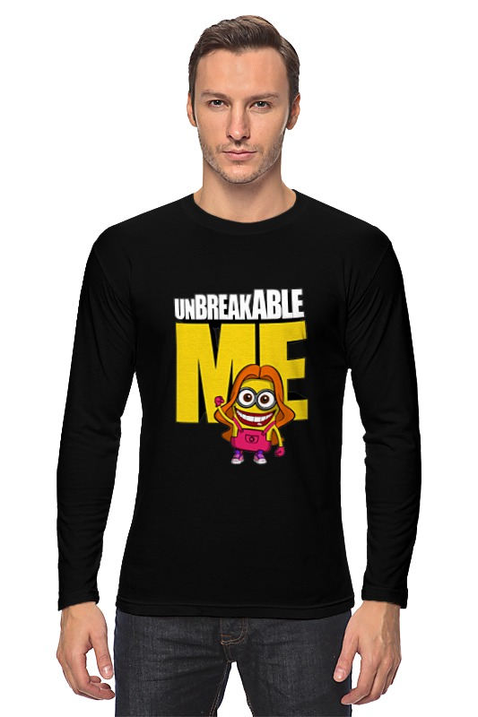 Лонгслив Printio Unbreakable me (minion) детская футболка классическая унисекс printio unbreakable me minion