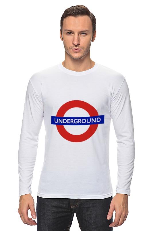 Лонгслив Printio Underground линейка универсальная prym для пэчворка с сантиметровой шкалой 30 см