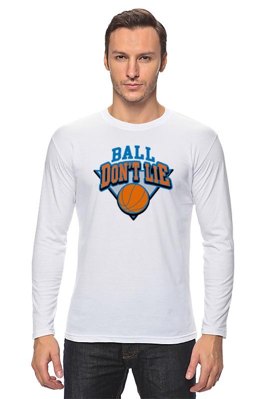 Лонгслив Printio Баскетбольный мяч планшет тренера баскетбольный маркер стираемый в комплекте