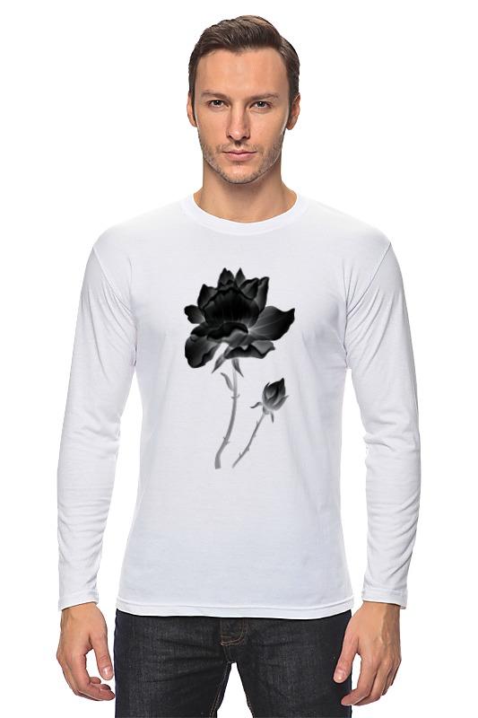 Лонгслив Printio Черная роза gangxun роза