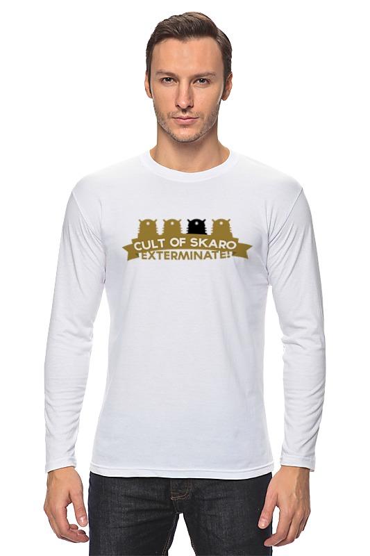 Лонгслив Printio Футболка мужская cult of skaro футболка классическая printio футболка мужская cult of skaro