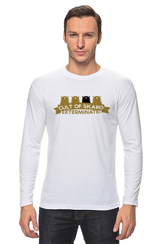 Лонгслив Printio Футболка мужская cult of skaro футболка мужская tidal collection of jordan 11