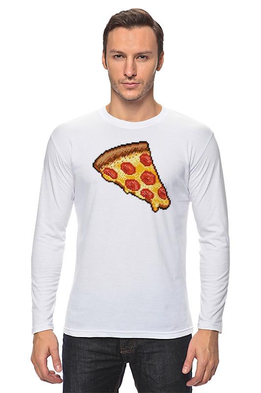 Лонгслив Printio Пицца (8-бит) лонгслив printio любимая пицца