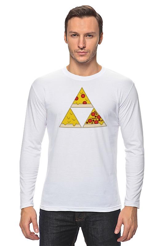Лонгслив Printio Пицца