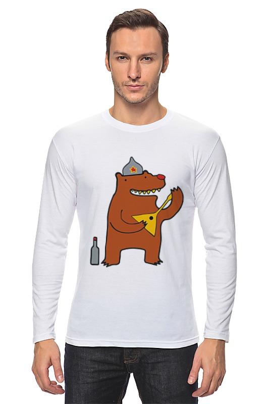 Printio Русский медведь лонгслив printio русский медведь