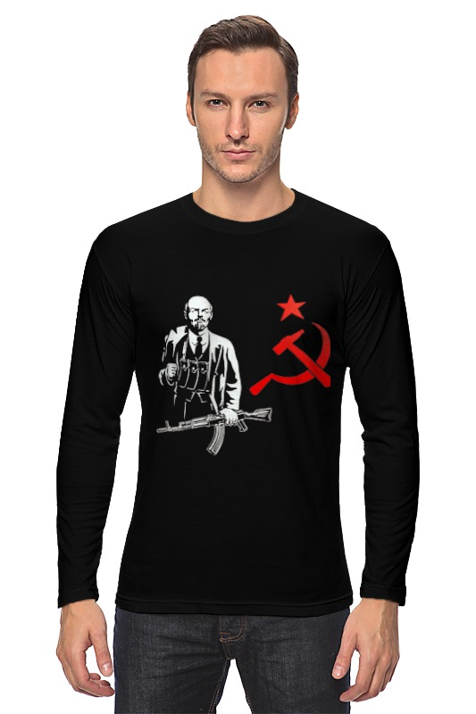 Лонгслив Printio Ленин лонгслив printio beyoutiful arsb