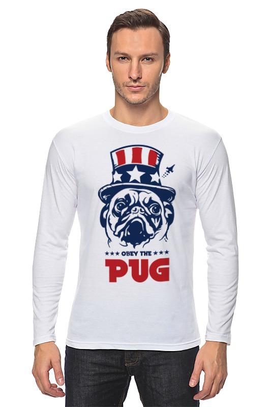 все цены на Лонгслив Printio Мопс президент (obey pug)