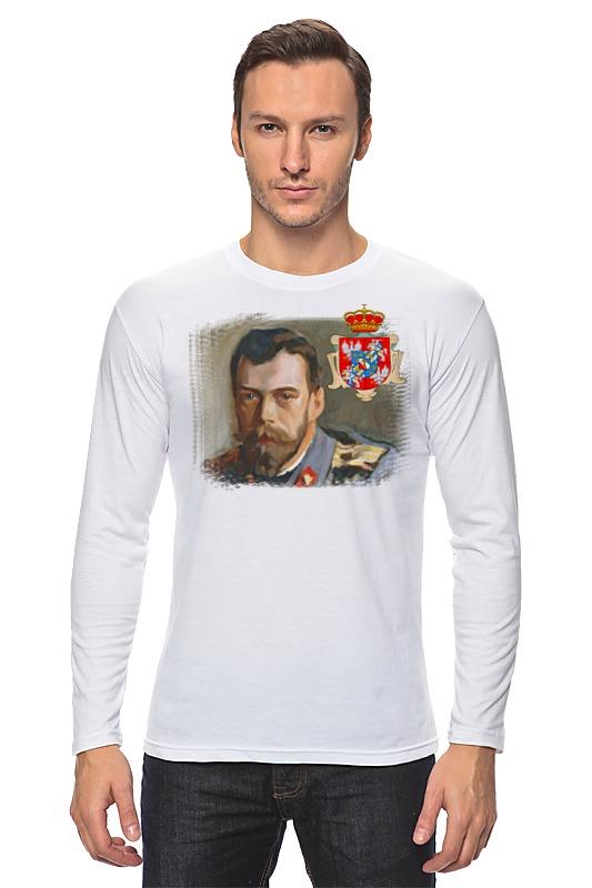 Лонгслив Printio Последний император россии