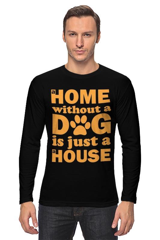 Лонгслив Printio Дом без собаки, не дом