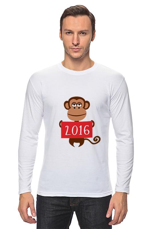 Лонгслив Printio Год обезьяны 2016 украшение настенное в виде головы обезьяны rudyard