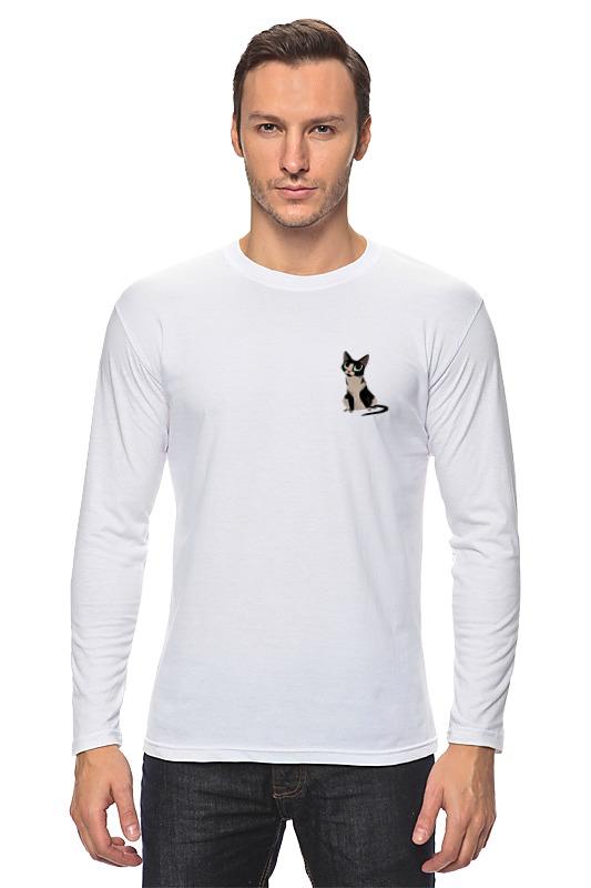 Лонгслив Printio Карманный котик