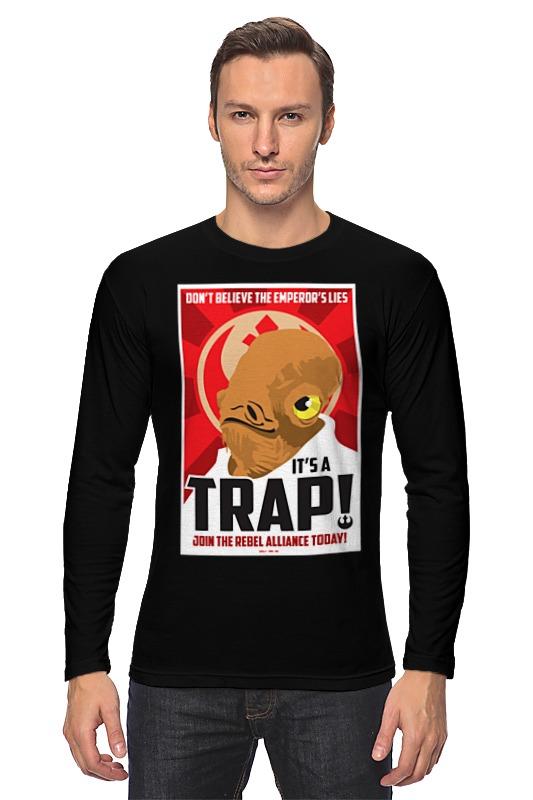 Лонгслив Printio It's a trap! [sa]mersen smartspot fuse amp trap fuses ajt4 4a 600v 27 51mm