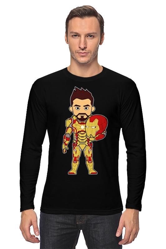 Лонгслив Printio Железный человек (iron man) сумка printio железный человек iron man