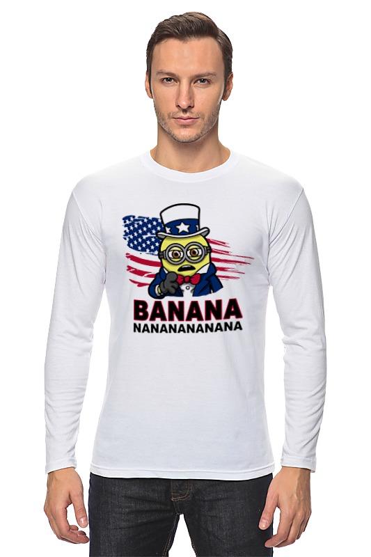 Лонгслив Printio Banana nanana цена