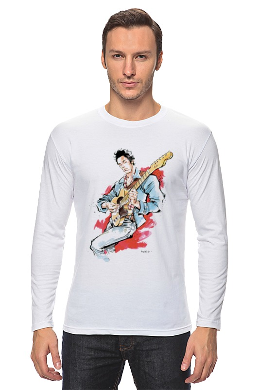 Лонгслив Printio Брюс спрингстин футболка wearcraft premium printio брюс спрингстин