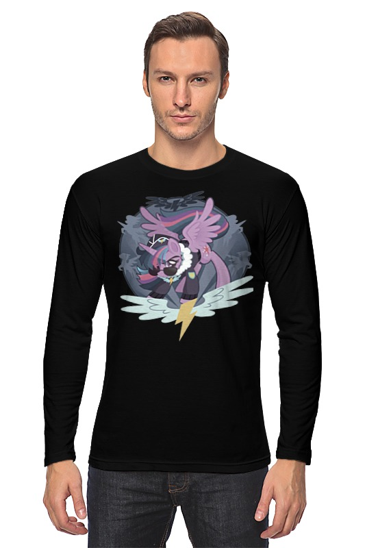 Лонгслив Printio Twilight sparkle wonderbolt
