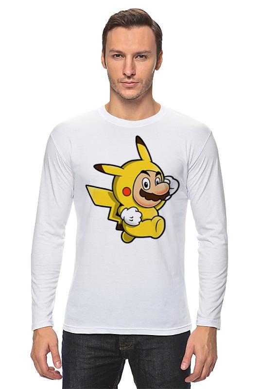 Лонгслив Printio Mario x pokemon лонгслив printio mario