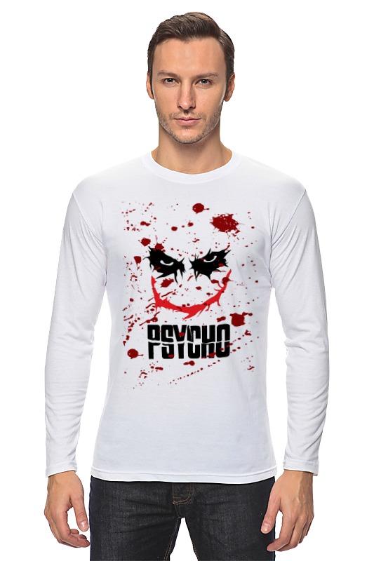 Лонгслив Printio Джокер (psycho) psycho psycho you love us…you hate us