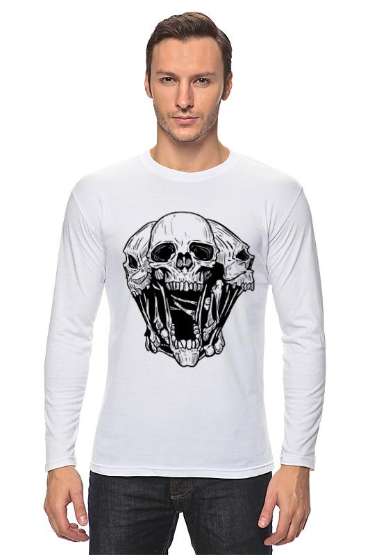 Лонгслив Printio Skull