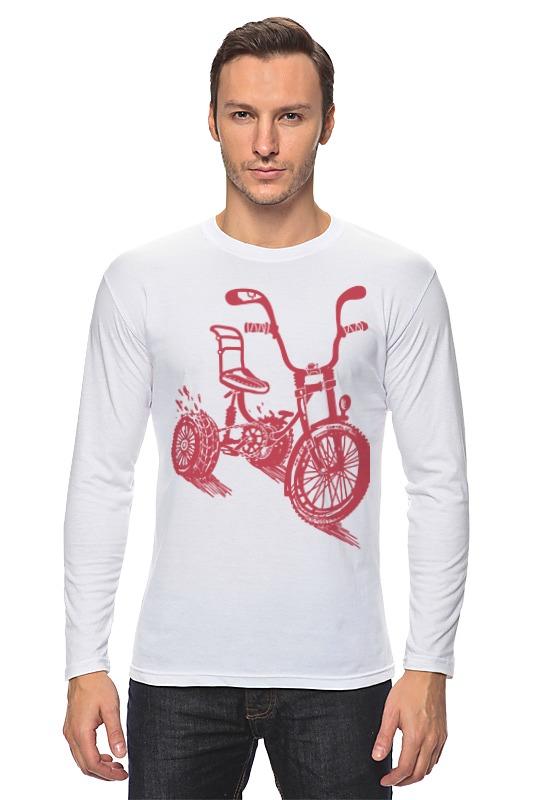 Лонгслив Printio Велосипед bonpoint лонгслив белый с принтом