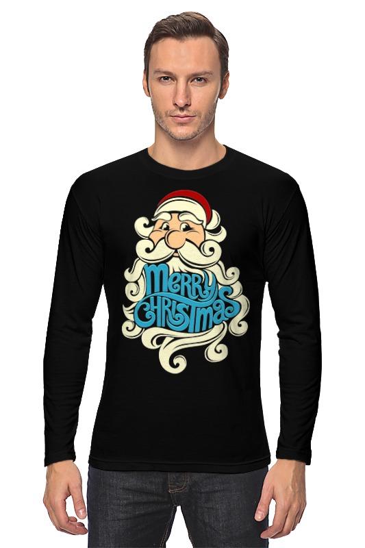 Лонгслив Printio Дед мороз (santa) лонгслив printio дед мороз в трубе